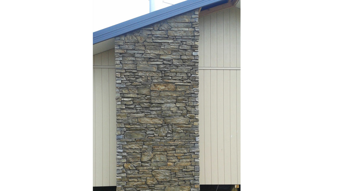 Southern Ledgestone Profile in a Tarras Colouring