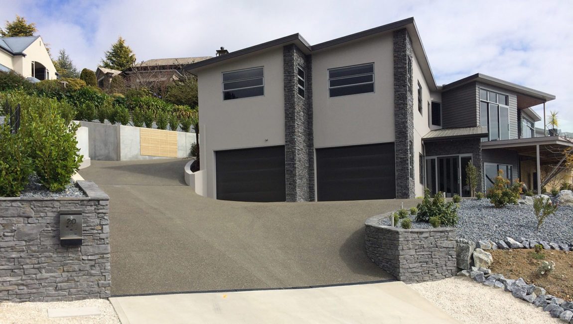 Southern Ledgestone Profile in a Queenstown Grey Colouring