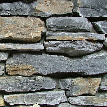 mountain shale grey rust classic stone