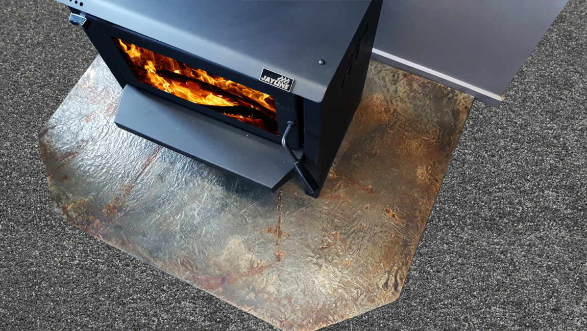 Classic Hearths based on a Tarras colouring with a 45 degree cutaway (1.2x.9m)