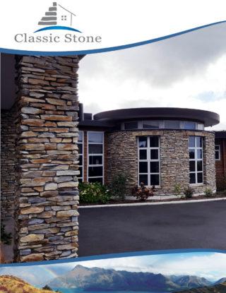2017 Classic Stone Brochure Cover
