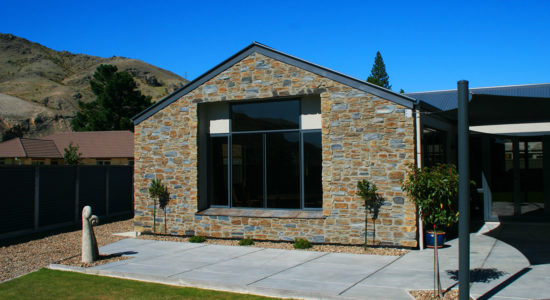Colonial Schist Stone Profile in a Custom Queenstown Grey and Central Brown Blend Colouring