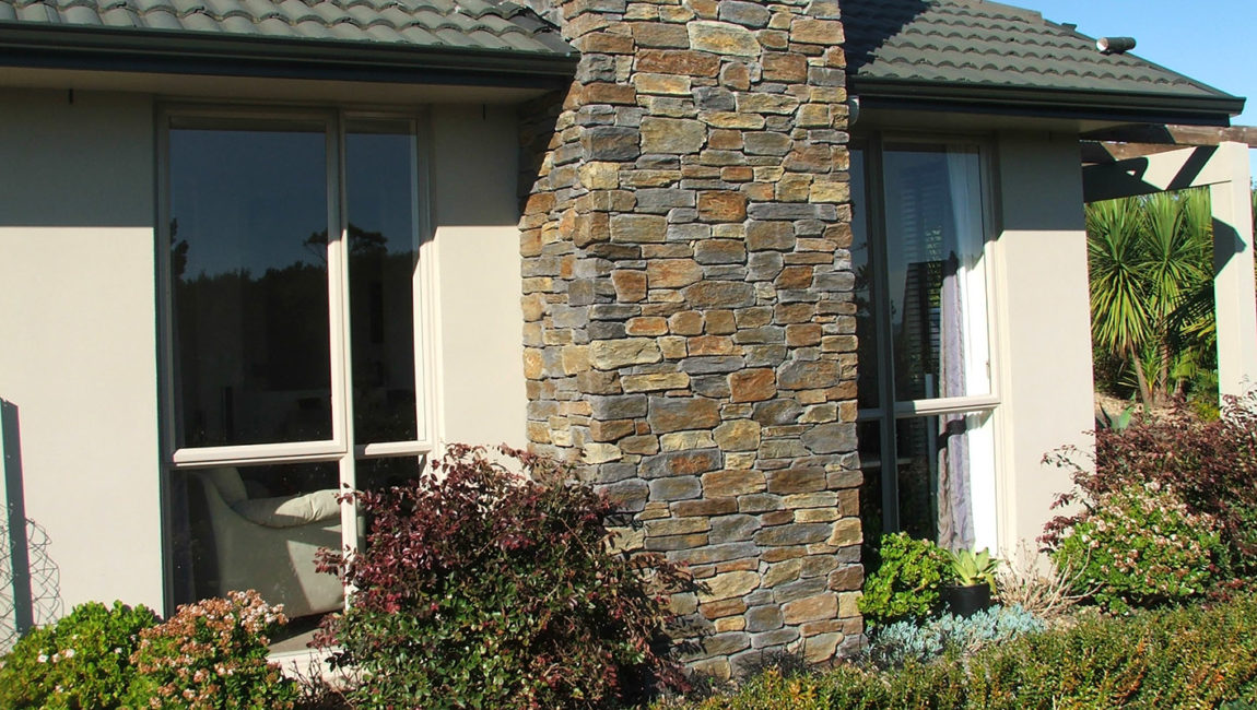 Colonial Schist Stone Profile in a Custom Queenstown Grey, Central Brown and Tarras Blend Colouring