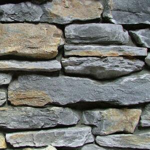 Mountain Shale - Grey Rust Sample